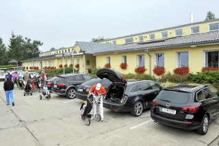 Golf Resort Franzensbad-Parkplatz