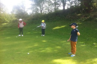Golf Resort Franzensbad-Kindertraining