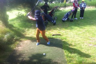 Golf Resort Franzensbad-Kindertraining Kurzplatz